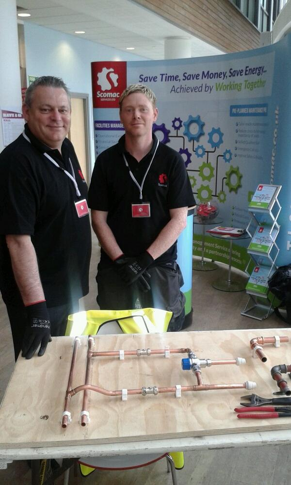 Scomac Services attends The Hertfordshire Skills Show Experience